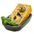 Gold cheese with mould — Stock Photo #34545069