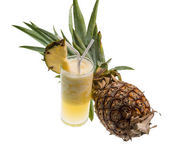 Pinneapple shake — Stock Photo