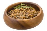 Backed lentils — Stock Photo