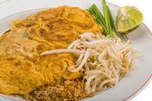 Tajski omlet z krewetkami — Zdjęcie stockowe
