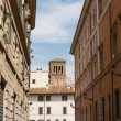 Rome, Italy. Typical architectural details of old city — Stock Photo #35376191