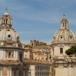 Chiesdel Santissimo Nome di Marial Foro Traiano and SantMaridi Loreto in Rome, Italy — Stock Photo #35376469