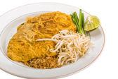 Thaise omelet met garnalen — Stockfoto