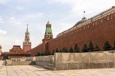 Spasskaya tower on Red Square — Stock Photo