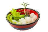 Small marinated onion — Stock Photo