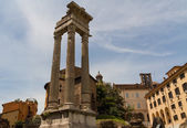 Ruins by Teatro di Marcello, Rome - Italy — Stock Photo