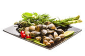 Spanish mollusc - Almeja — Stock Photo