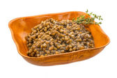 Backed lentils — Stock Photo