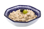 Oats porridge — Stockfoto