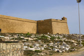 Old Fortess ruin in Mahdia Tunis — Foto de Stock
