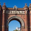 BarcelonArch of Triumph — Stock Photo #37148065