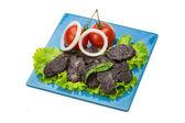 Saucisse de viande chevaline — Photo