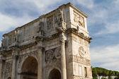 El arco de constantino, roma, italia — Foto de Stock