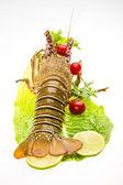 Surowy spiny homary — Zdjęcie stockowe