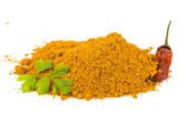 Curcuma powder — Stock Photo