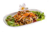 Catfish salad — Stock Photo