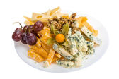 Variedade de queijo — Foto Stock