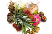 Thai fruit mix — Stock Photo