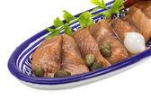 Sliced herring — Stock Photo