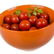 Stock Photo: Marinated cherry tomato