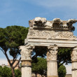 Building ruins and ancient columns in Rome, Italy — Stock Photo #38788423