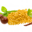 Stock Photo: Raw macaroni