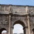 Stock Photo: Arch of Constantine, Rome, Italy