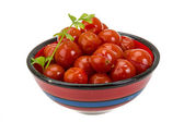 Marinated cherry tomato — 图库照片