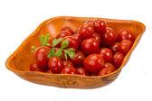 Marinated cherry tomato — Stockfoto