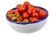 Marinated cherry tomato — Stock Photo