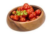 Marinated cherry tomato — Stock Photo