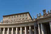 Saint Peter's Square, Rome, Italy — Stock fotografie
