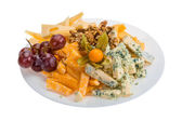 Cheese assortment — Stock Photo