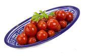 Marinated cherry tomato — 图库照片