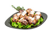 蜗牛 — 图库照片