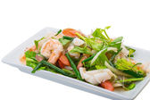Glass noodle with seafood — Stockfoto