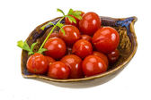 Marinated cherry tomato — Stock fotografie