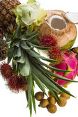 Thai frukt mix — Stockfoto