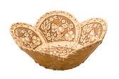 Wood bowl — Stock Photo