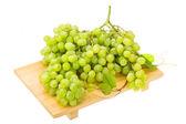Green bright grape — Zdjęcie stockowe