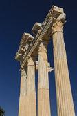 Apollo temple in Side — Stock Photo