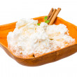 Cottage cheese — Stock Photo #41350639
