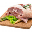 Stockfoto: Raw lamb