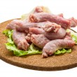 Raw chicken neck — Stockfoto #41431477