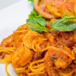 Seafood pasta — Stock Photo #41452171