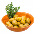 Green gigant olives — Stock Photo #41472423