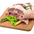 Raw lamb — Photo #41472755