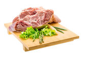 Raw lamb — Stock Photo