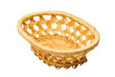 Wooden basket — Stock Photo