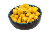 黄色のマリネ ペッパー — ストック写真